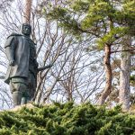 上杉謙信公像